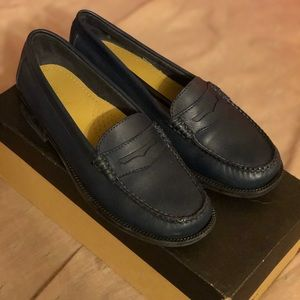 G.H. Bass & Co. Weejuns Kathleen Leather Loafers !
